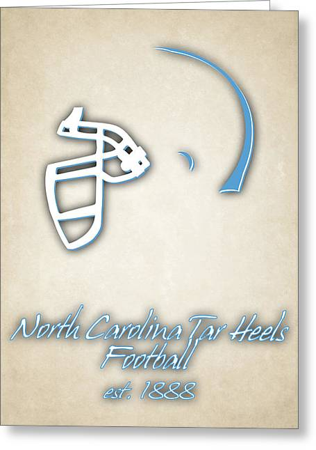 North Carolina Tar Heels Greeting Card by Joe Hamilton