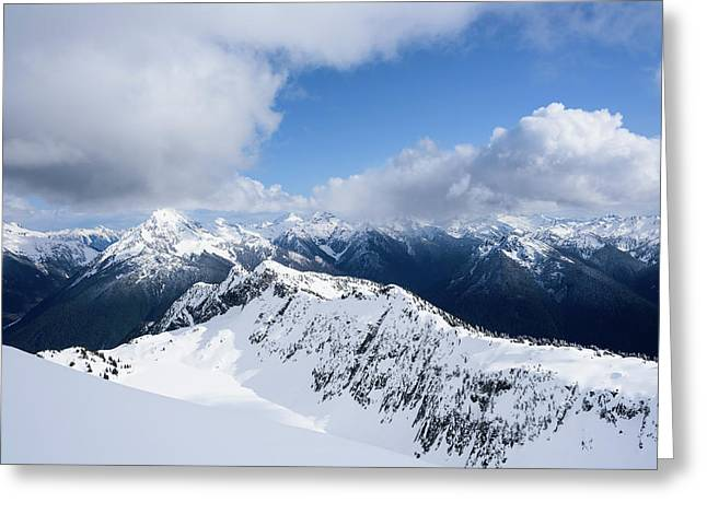North Cascade Mountains Greeting Card
