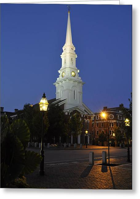 North Church Ncp Greeting Card