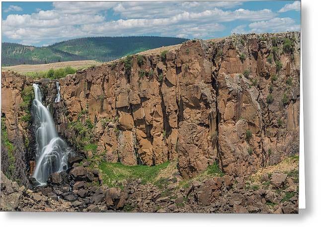North Clear Creek Falls, Creede, Colorado 2 Greeting Card