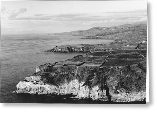 North Coast - Sao Miguel - Azores Greeting Card by Henry Krauzyk