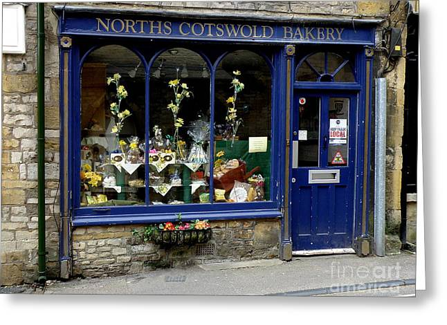 North Cotswold Bakery Greeting Card