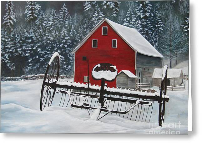 North Country Winter Greeting Card