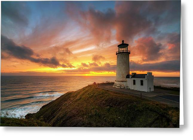 North Head Dreaming Greeting Card by Ryan Manuel