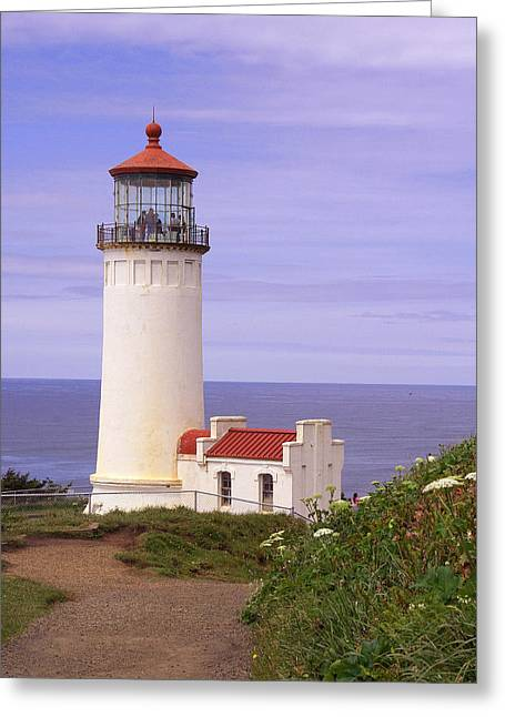 North Head Lighthouse Li 2000 Greeting Card by Mary Gaines