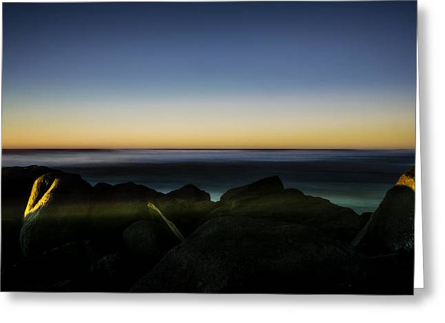 North Jetty 2 Greeting Card by Pelo Blanco Photo