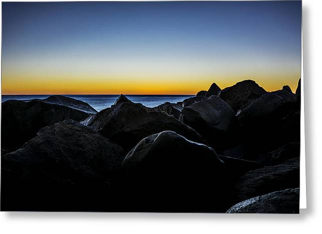 North Jetty 3 Greeting Card by Pelo Blanco Photo