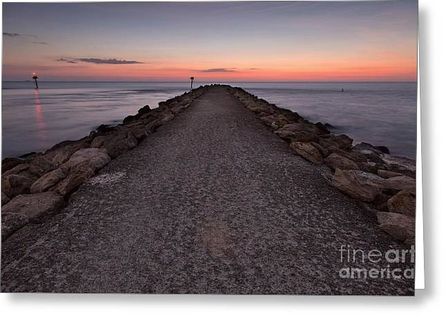 North Jetty Greeting Card