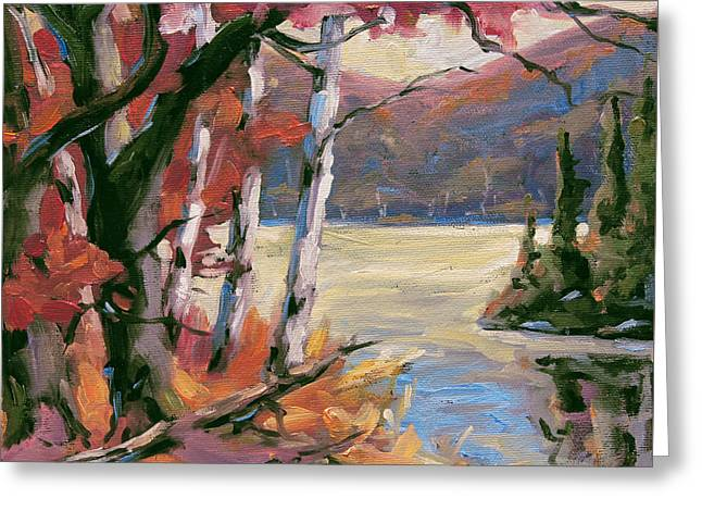 North Lake By Prankearts Greeting Card by Richard T Pranke