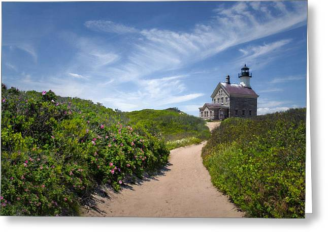 North Light Greeting Card by Robin-Lee Vieira