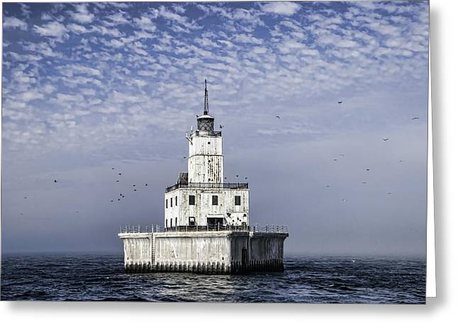 North Manitou Shoal Light Greeting Card