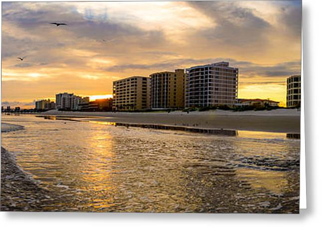 North Myrtle Beach Sunset Greeting Card
