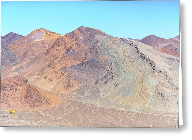 Greeting Card featuring the photograph North Of Avawatz Mountain by Jim Thompson