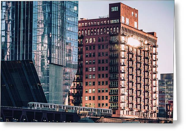 North Riverside Greeting Card