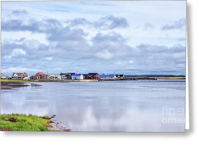 North Rustico Harbor Prince Edward Island Greeting Card