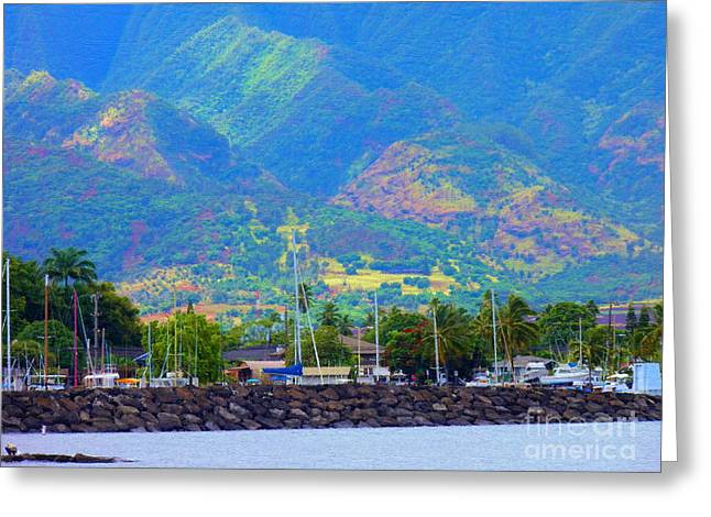 North Shore Haleiwa Hawaii  Greeting Card