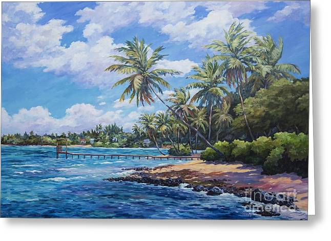 North Side Coastline  Greeting Card