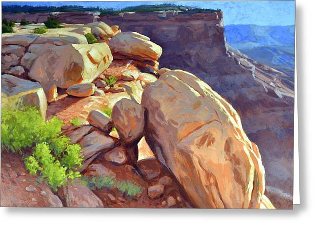North Towards Moab Greeting Card