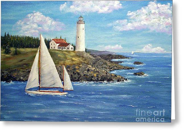 Northeast Coast Greeting Card