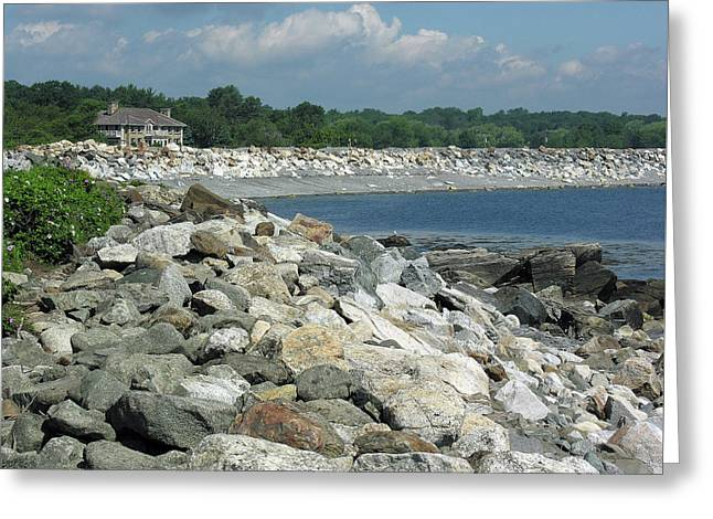 Northeast Us, Atlantic Coast, Rye Nh Greeting Card
