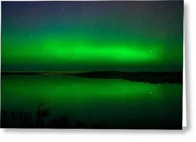 Northen Lights Greeting Card