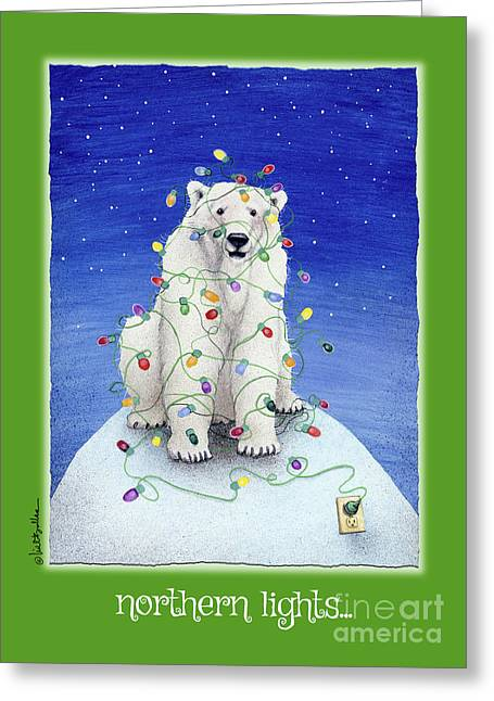 Northern Lights ...  Greeting Card