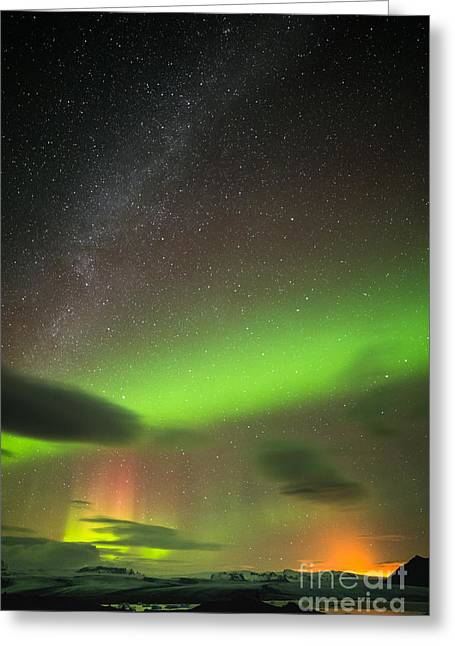 Northern Lights 8 Greeting Card