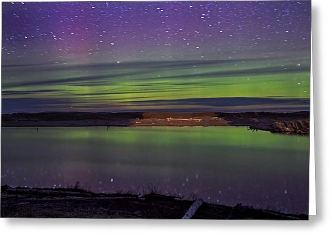 Northern Lights Greeting Card by Gary McCormick