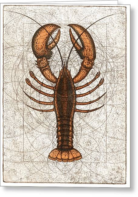 Northern Lobster Greeting Card