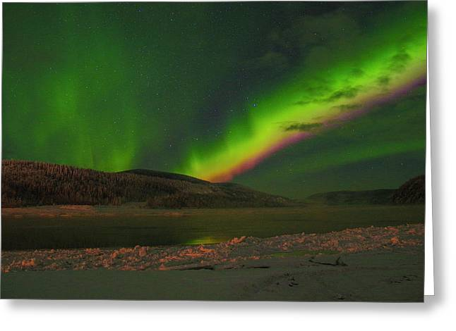 Northern Northern Lights 3 Greeting Card