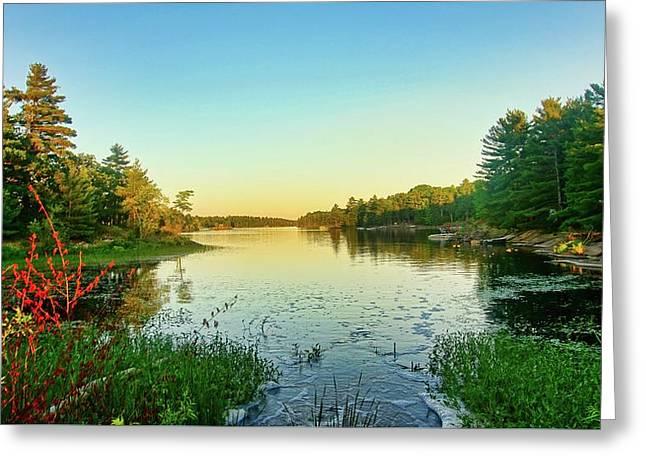 Northern Ontario Lake Greeting Card