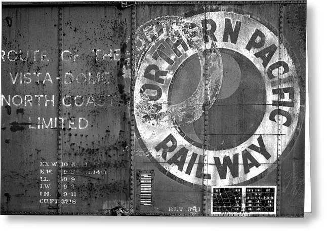 Northern Pacific Railway Past Greeting Card