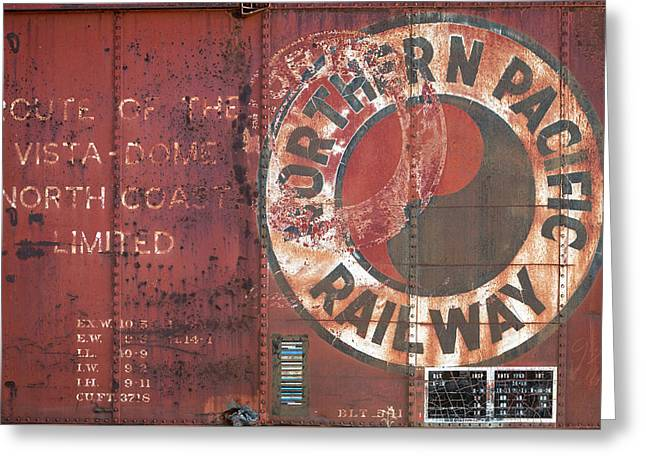 Northern Pacific Railway Greeting Card