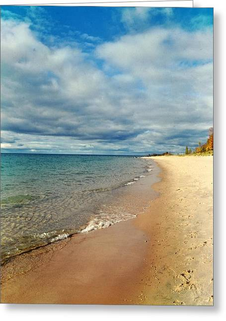 Greeting Card featuring the photograph Northern Shore by Michelle Calkins
