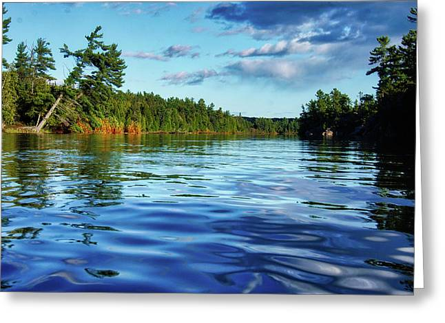 Northern Waters Greeting Card