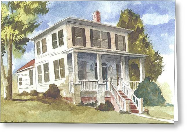 Northport House Greeting Card by Jim Stovall