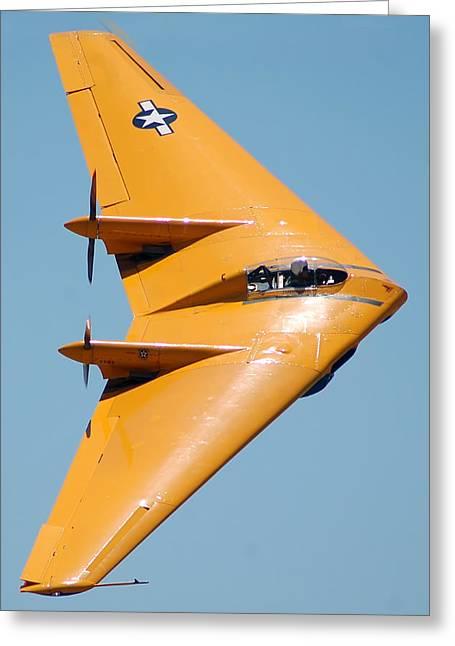 Northrop N9mb Flying Wing Greeting Card by Brian Lockett