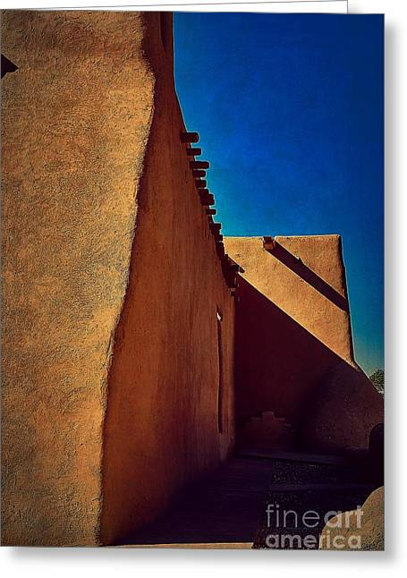 Northside Shadows Greeting Card by Charles Muhle