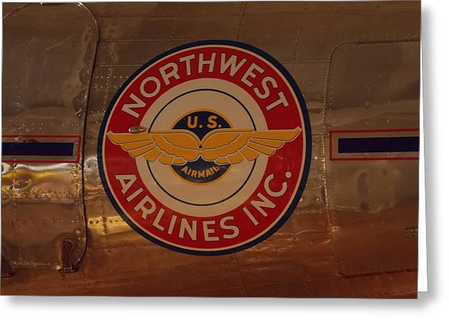 Northwest Airlines 1 Greeting Card