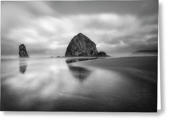 Northwest Monolith Greeting Card by Ryan Manuel