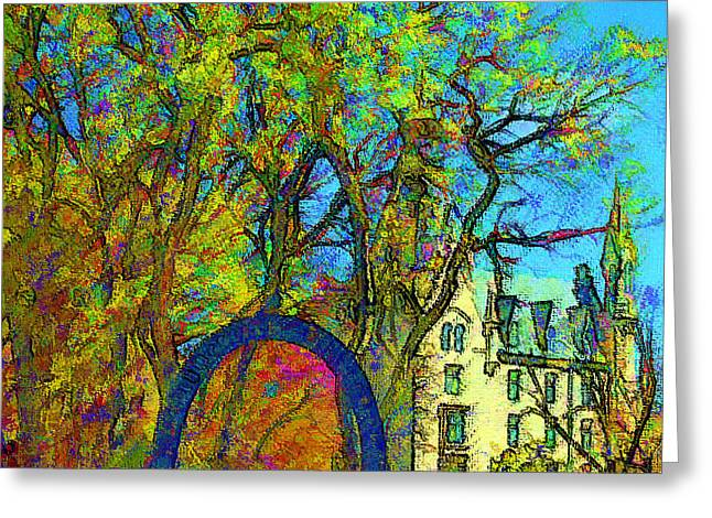 Northwestern Arch  Greeting Card