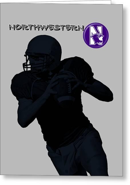 Northwestern Football Greeting Card