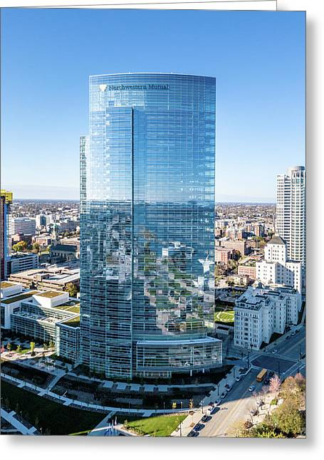Northwestern Mutual Tower Greeting Card