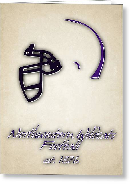 Northwestern Wildcats Greeting Card