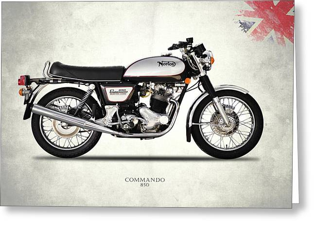 Norton Commando 850 Greeting Card