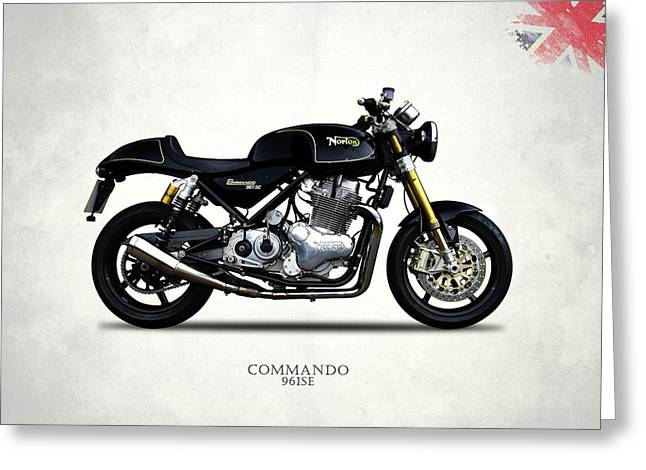 Norton Commando 961se Greeting Card