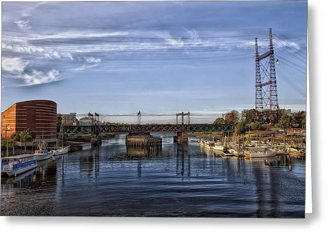 Norwalk Harbor Greeting Card
