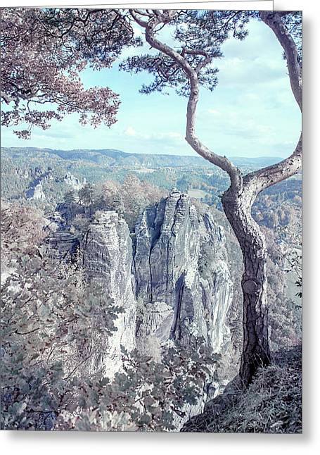 Nostalgic Romantic. Saxon Switzerland Greeting Card