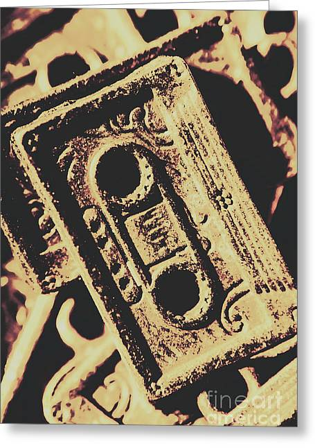 Nostalgic Sound Greeting Card