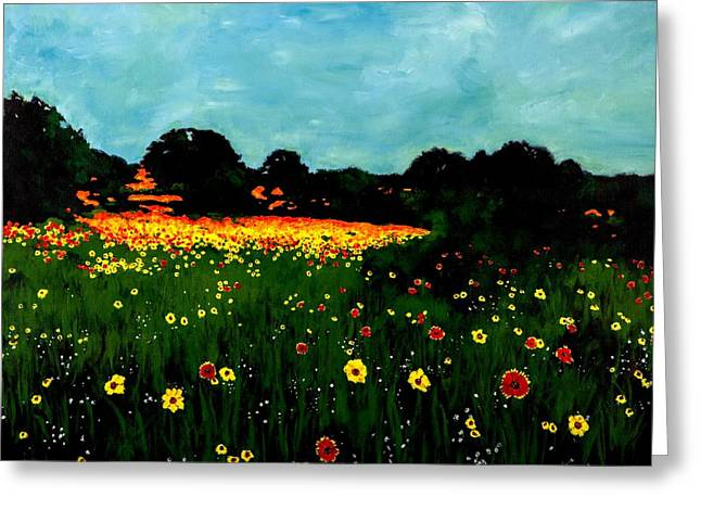 Not Another Bluebonnet Painting Greeting Card